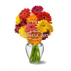 Vase de Gerberas