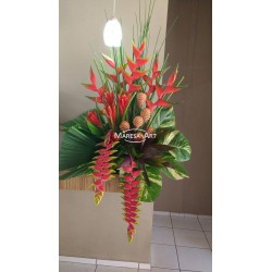 Exotic bouquet of decoration