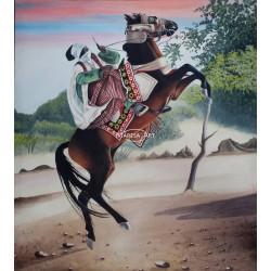 Tableau Africain sur toile
