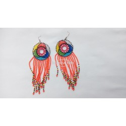 Maasai pearl earrings