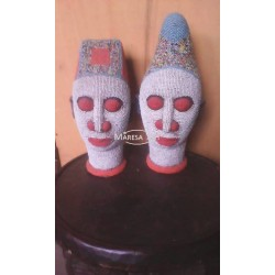 Beaded head 30 cm/ Head