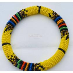 Yellow Massai bracelet