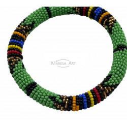 Green Massai bracelet
