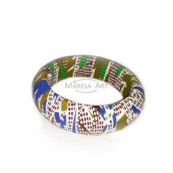 African bracelet in ordinary fabric