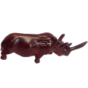 Rhinoceros carved wood