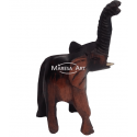 Elephant carved wood