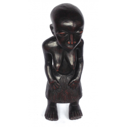 Bamileke widow in ebony wood