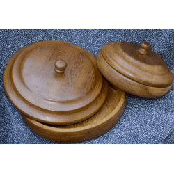 Wooden soup tureen