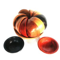 Collection bols multicolores
