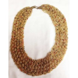 Colier en perles Massaï