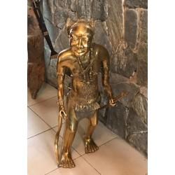 Guerrier en bronze